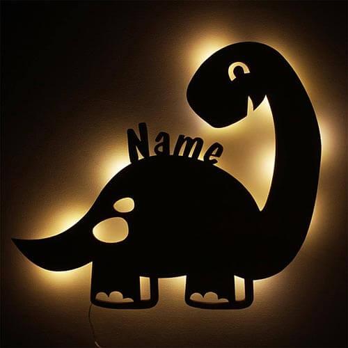 Nachtlicht Dino Geburt