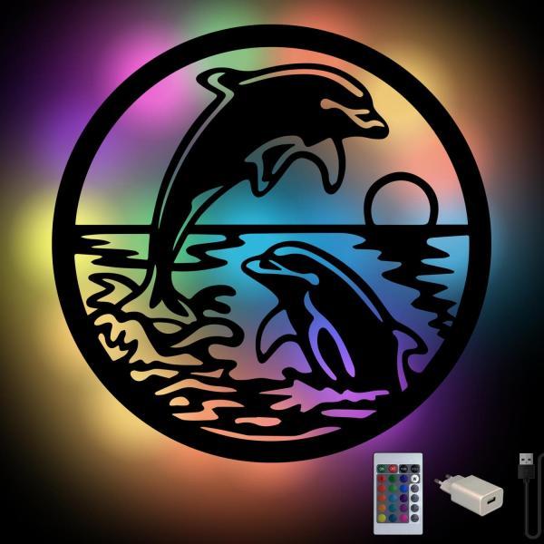 Delfine Geschenke Lampe