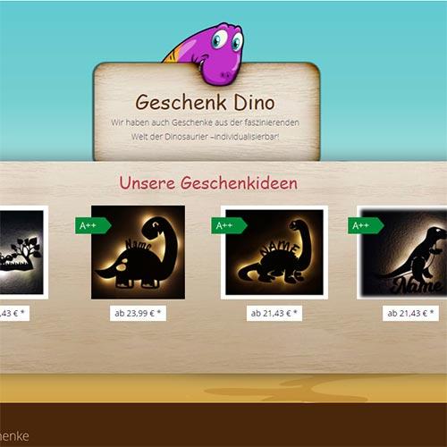 Themenwelt Dino Geschenke