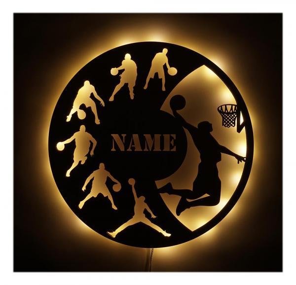 Basketball Geschenke LED