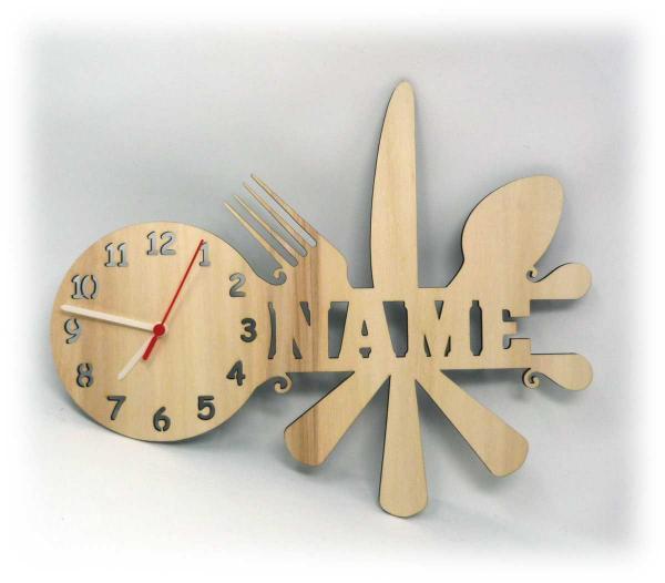 Wandtattoo Küche Uhr Geschenke