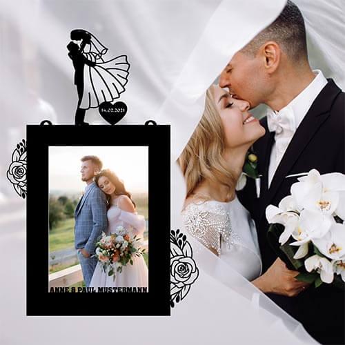 Bilderrahmen Hochzeit