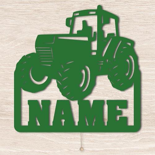 Traktor Schlummerlicht mit Namen