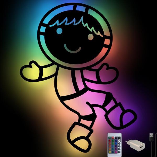 Geschenkelampe Astronaut Wand Lampe Nachtlicht