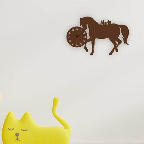 Pferdegeschenke Wanduhr