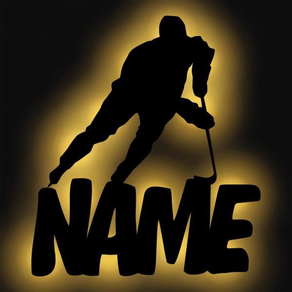 Eis Hockey Geschenke Wand Lampe Nachtlicht