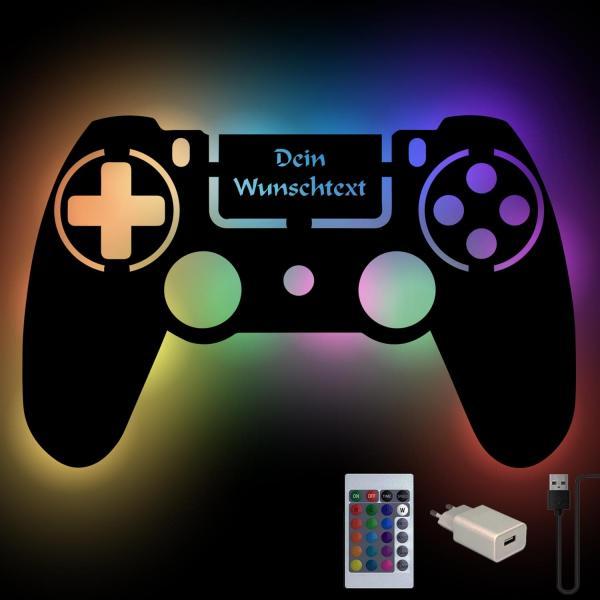 Gaming Geschenke Game Controller mit Wunschtext personalisiert
