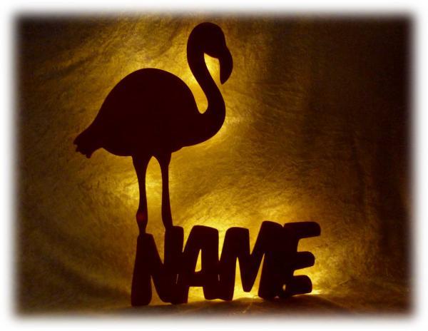 Geschenkidee Flamingo Gravur