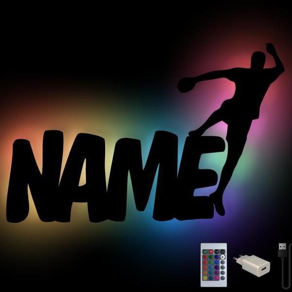 Handball Geschenke Lampe