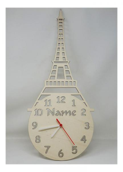 Eiffelturm Uhr Geschenke Shop