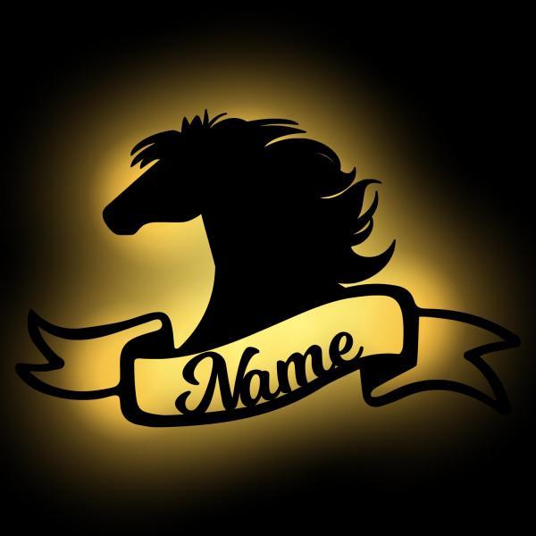 Geschenk Pferd mit Namen