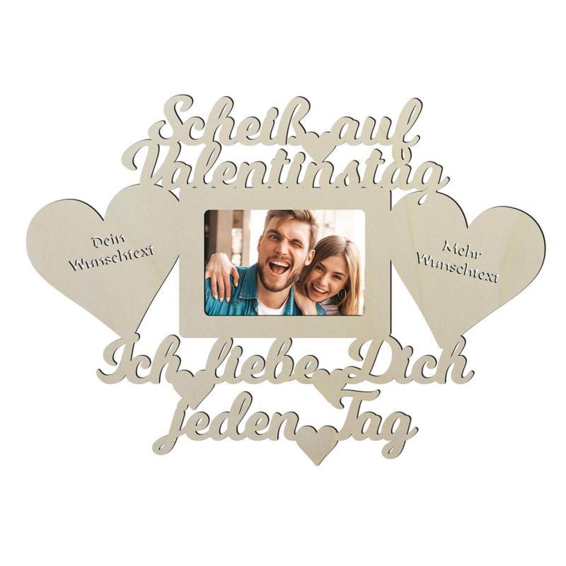 - Scheiss auf Valentinstag Geschenk personalisiert - Onlineshop Schlummerlicht24