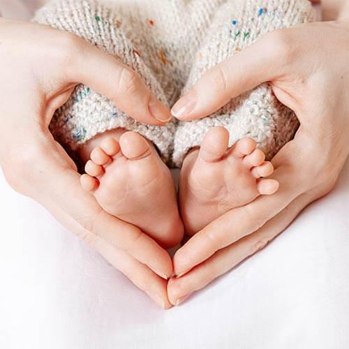 Baby Bilderrahmen Fußabdruck