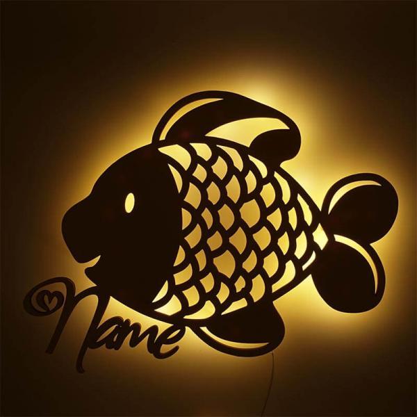 Fisch Lampe Nachtlicht