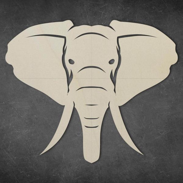 Elefant Wand Deko
