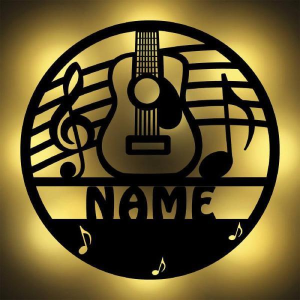 Gitarre Geschenke Wand Lampe Nachtlicht