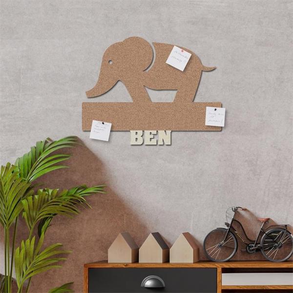 Elefant Pinnwand