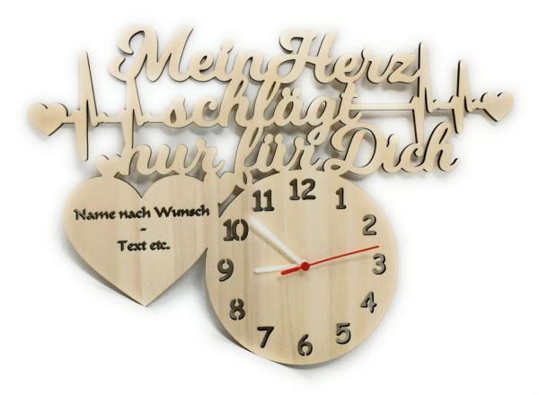 Uhr Liebesbeweis Geschenke mit Namen