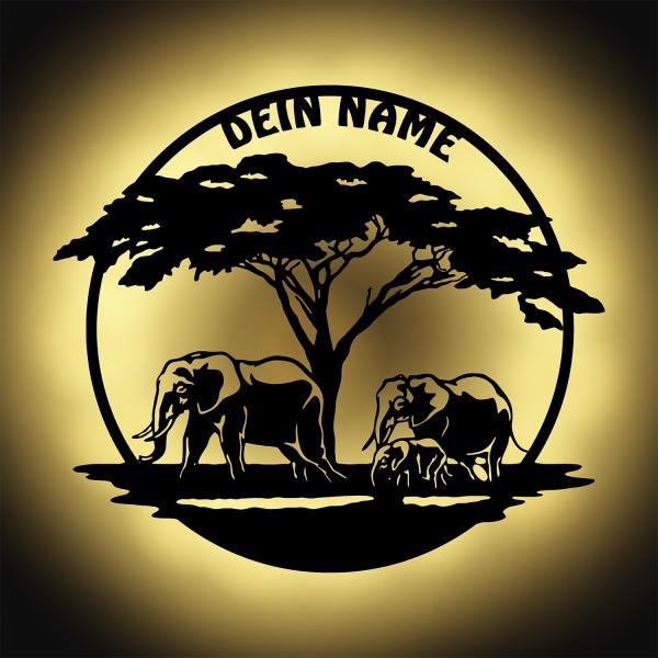 Afrika Wand Lampe Nachtlicht