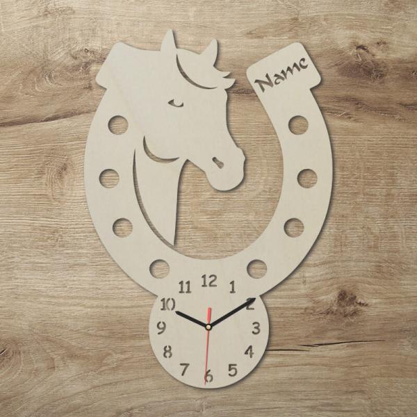 Pferdeliebhaber Uhr Geschenke Hufeisen