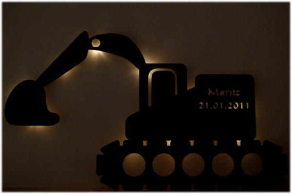 Bagger Licht Nachtlicht