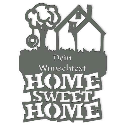 Home Sweet Home Türschild