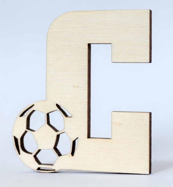 Buchstaben Fußball