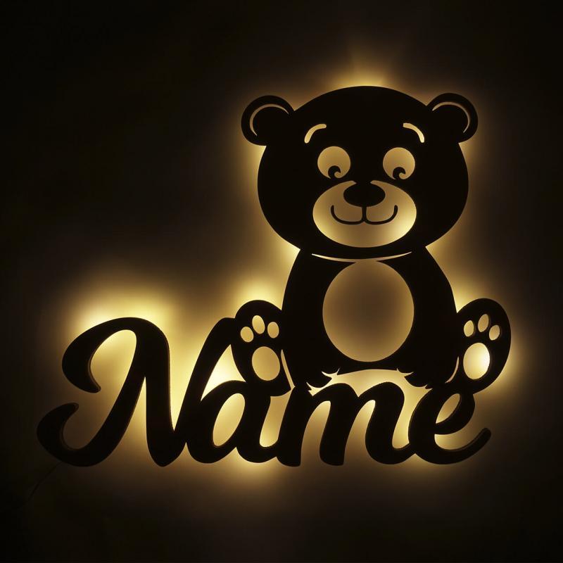 - Baby Shower Geschenke Nachtlicht Bär - Onlineshop Schlummerlicht24