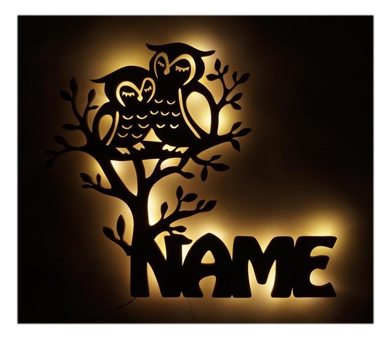 - Ausgefallene Eulen Geschenke Name - Onlineshop Schlummerlicht24