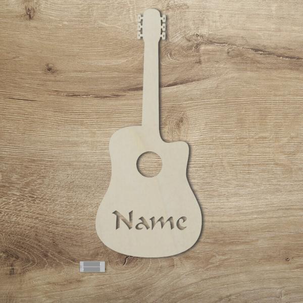 Geschenke für Musiker Gitarre Unbehandelt