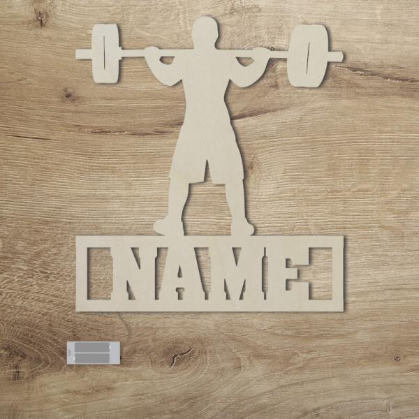 Geschenke für Bodybuilder Fitness Gewichtheber Hantel