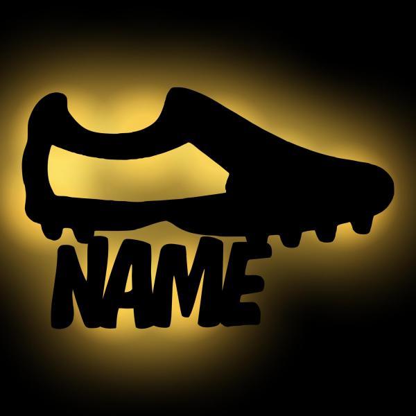 Geschenk Fußballtrainer mit Namen