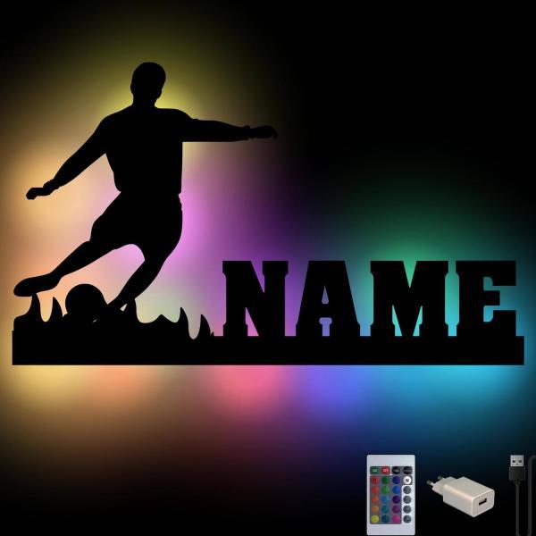 Fussball Farbwechsel USB Lampe Nachtlicht