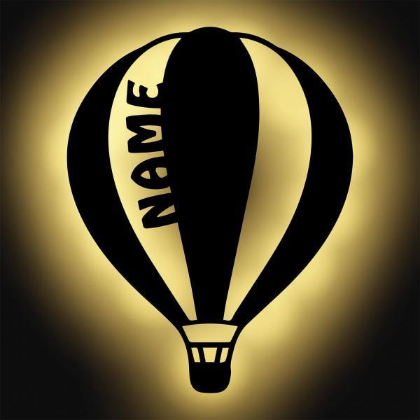 Heißluftballon Lampe