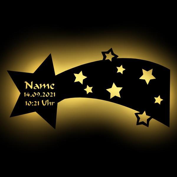 Sternschnuppe Nachtlicht