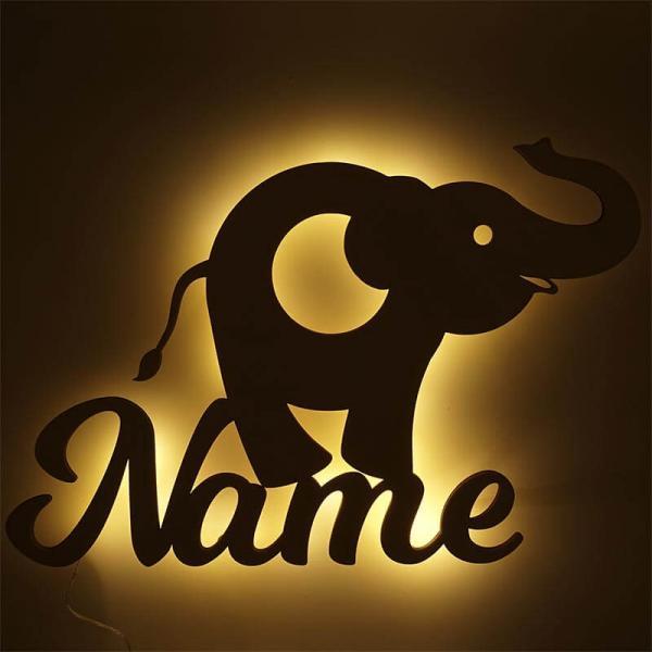 Elefanten Nachtlicht