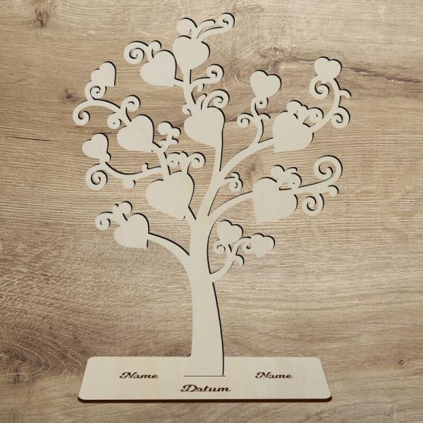 Geldgeschenk Baum zur Hochzeit Unbehandelt