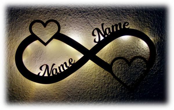 Liebeslicht Geschenke mit Namen