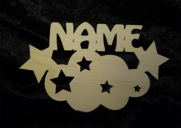 Stern Gastgeschenke Baby mit Namen