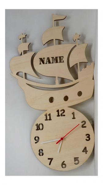 Segelschiff Geschenkartikel Uhr