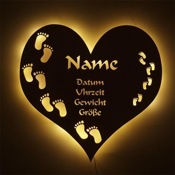 Geschenke für Neugeborene Fußabdruck