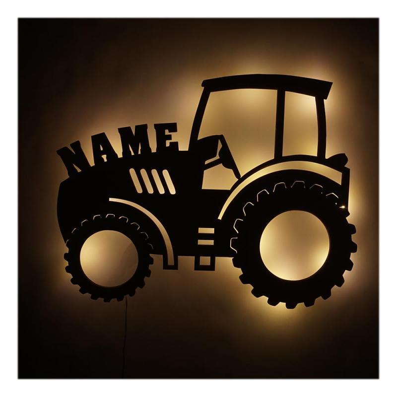 - Traktor Lampe Nachtlicht Geschenkidee Namen - Onlineshop Schlummerlicht24