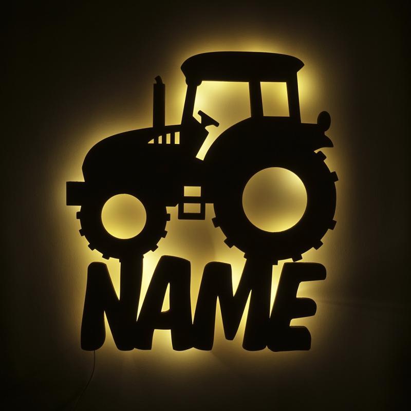 - Traktor Nachtlicht Lampe Kinder - Onlineshop Schlummerlicht24