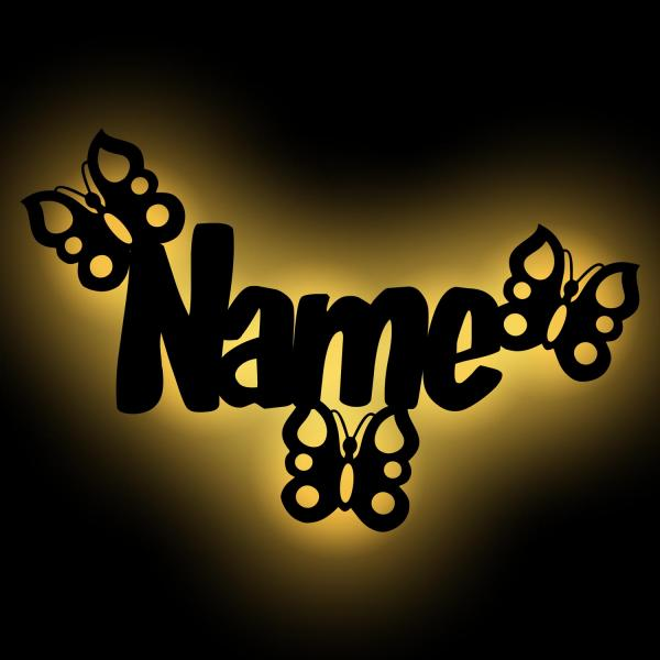 Schmetterling Nachtlicht