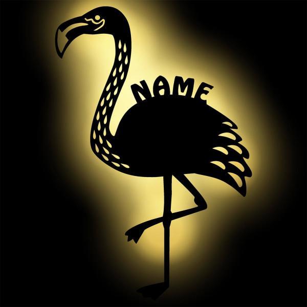 Flamingo LED Wand Nachtlicht Lampe